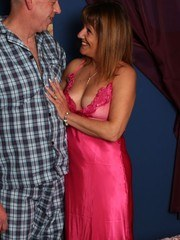 Pandora is planning a sexy night and strips her husband naked and ties him to the