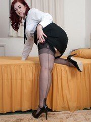 Jay fantasises about the janitor in her academy bedroom!