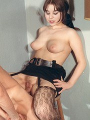 Sexy lacy stockings are ALL the rage! Hot hot hot!