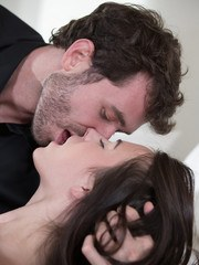 Check out two of the hottest girls you will ever see in your life with James Deen.