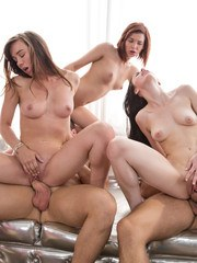 Happy Birthday Capri and to me Colette! Watch this fun orgy in honor of Capris amp