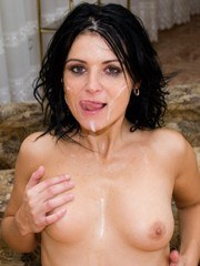 Young Teen Patricia in a Hardcore Audition with Five Guys