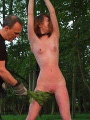 The forest can be cruel sometimes.. Noa Livia finds herself tied to a tree in the