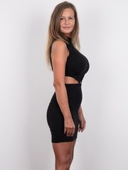 This is not a dream. Mrs Karolina is the most beautiful MILF we have ever had in