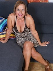 Naughty Spanish housewife Conchita loves getting laid by her younger lover