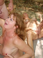 Real Tampa Swingers - Dogging In A Public Park
