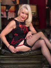 When 64 year old UK gilf Margaret Holt is ready to get herself off she wont take