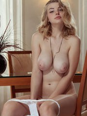 This big titted beauty has a lot of nice things and sizzling hot shapes to show you.