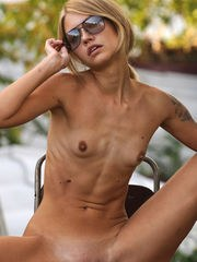 This shapely beauty loves to show all her amazing shapes outdoors as the sun shines