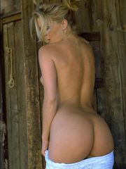 Naked on Porch