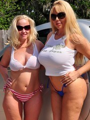 What more could you ask for when you have two blondes with BIG ASSES and BIG TITS?