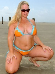 At the beach and I wanted to get a little naughty. So Mr. Siren pulls out the camera