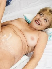 Young stud Mugur is hard for Malya a busty granny with nymphomaniac tendencies. After