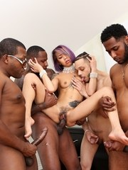 Kimberly Chi is a horny little asian who has always had a hankering for black cock
