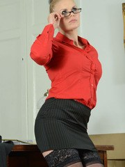 Stephanie has been called to Deputy Headmistress office for being caught with a boy