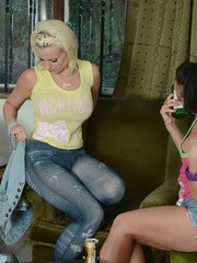 Its out of class hours and Billie Mercedes are in a naughty mood. So they have gone