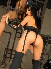 Madam Mintra Asian fetish slaves in cages