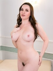 Casey Calvert is in her bedroom lubbing up her pussy. Shes playing with herself talking