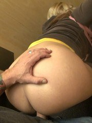 After playing with Mr Siren in the dressing room I was still so horny. As we were