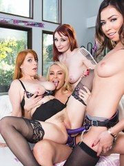 Violet Monroe and Penny Pax are about to get married. Violet wants the night to be