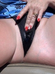 We were out driving around and I was feeling extra fucking horny. So I had my husband