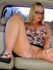 Whos ever wanted to get picked up from the airport and have a sexy thick blonde wife