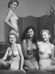 Sexy vintage girls 3 or more at a time!