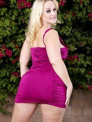 Another shoot with the awesome Rick Garcia.  This time in my purple dress.