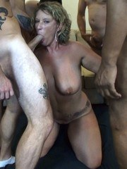 HOTWIFE May Waters is back in Houston. This time we invited a bunch of Siren Strokers