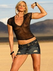 On Dry Lake Bed