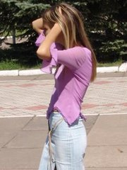 Tight bodied katrina loves flashing in public