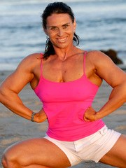 Pink Muscle Flexing