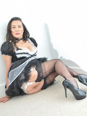 Nylon Jane will be your personal maid but she has her own demands when it comes to