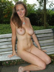 Kristys getting naked at the public park