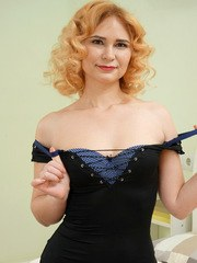 Lusty Russian mom Adelis Shaman has a tight lithe body that she is careful to keep