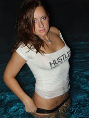 Kylie in her Wet-T