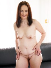 Sexy granny Alice Sharp wants hot stud Dom Ullys big hard cock in her pussy. She