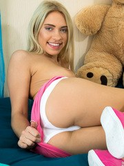 All girls love to play with toys and Khloe Kapri isnt shy about showing us her favorites!
