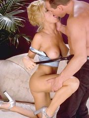 Jill Kelly sucking cock and being fucked
