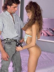 Racquel Darrian working a stiff cock