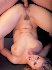 Big Boobed Blonde Goddess jane Darling Takes it in the Ass