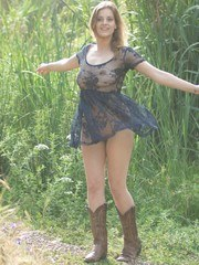Lottii Rose dresses inappropriately for a walk in nature.... Thanks Lottii!