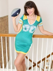 Ivana Slew Is Ready For Football