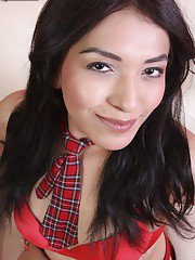 Gorgeous 18 year old Navajo tgirl Jamie really does have star potential