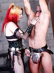 Mistress Tempest gives Paul a grinding like he039s never had before!