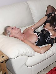 Kirsty loves an orgy with horny girls and gorgeous TGirls