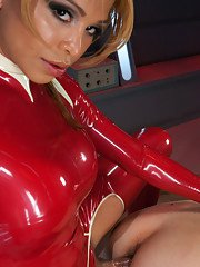 Sci-fi update Jessica Host traps a cop in her laboratory and channels the strength
