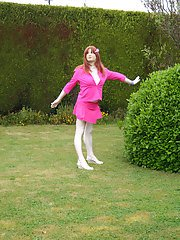Lucimay dresses up as a fuck doll and waits to get punished in every hole she has.