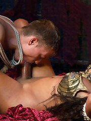 Yasmin Lee lures a sailor to her lair fucks him and devours his body with her trademark