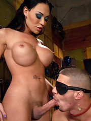 Mia Isabella celebrates her birthday by shoving her tits in her cake and feeding